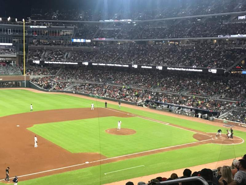 SunTrust Park, section: 237, row: 9, seat: 5