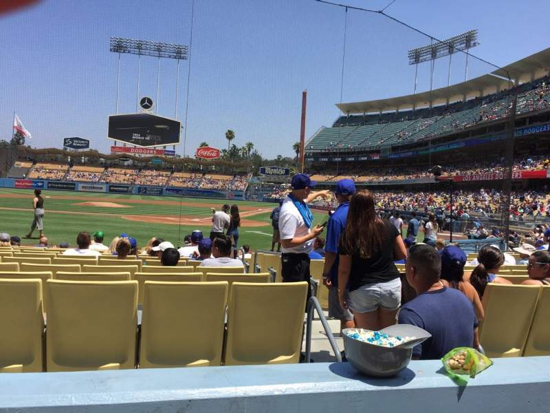 Seating view for Dodger Stadium Section 5fd Row B Seat 9
