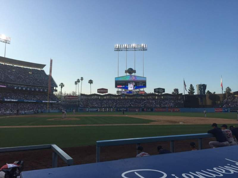 Seating view for Dodger Stadium Section 6DG Row BB Seat 3