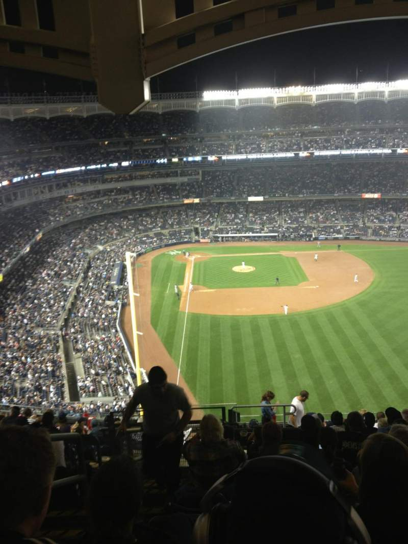 Seating view for Yankee Stadium Section 406 Row 10 Seat 22