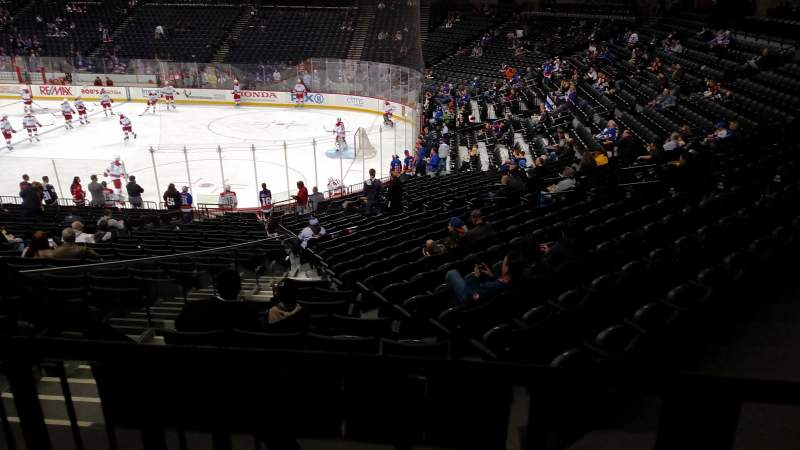Seating view for Barclays Center Section 121 Row 4 Seat 11