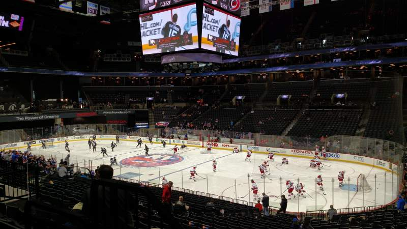 Barclays Center, section: 121, row: 4, seat: 11