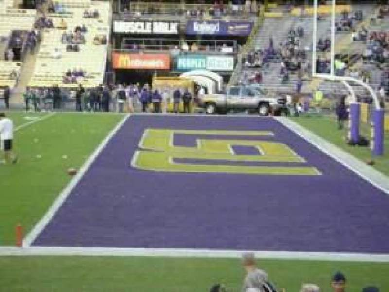 Seating view for Tiger Stadium Section WBL1 Row 15 Seat 14