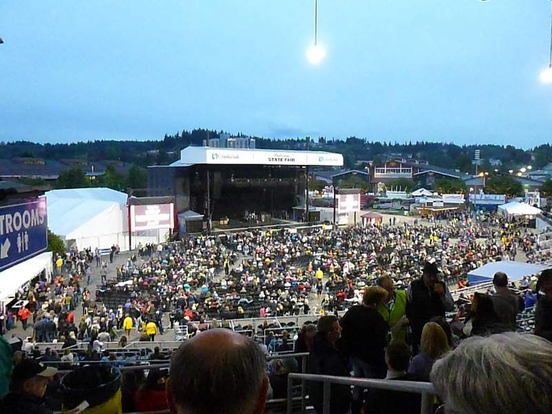 Grandstand at the Washington State Fair, section: GS 16, row: 15, seat: 6