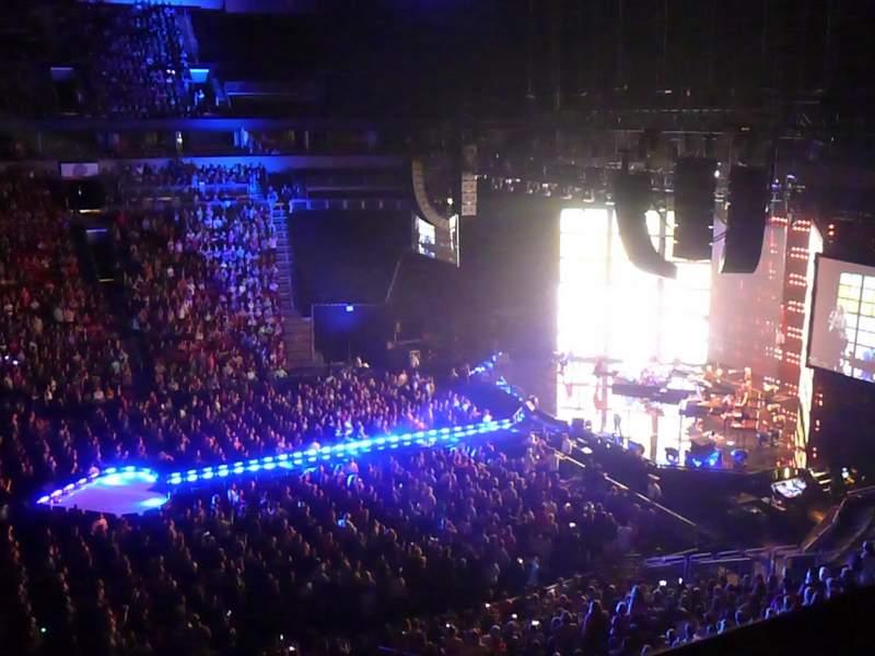 KeyArena, section: 214, row: 1, seat: 10
