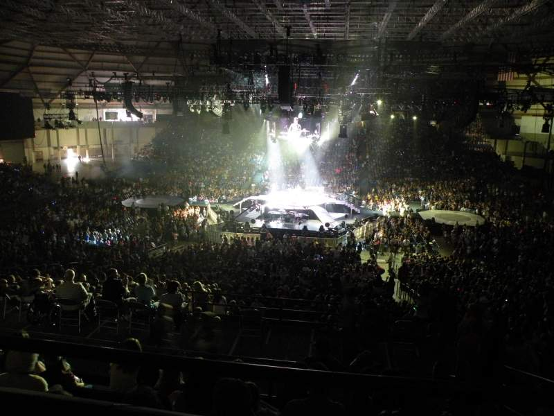 Seating view for Tacoma Dome Section 7B Row 2 Seat 5