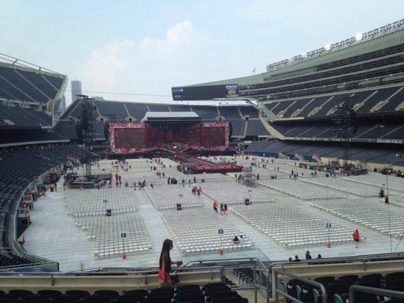 Seating view for Soldier Field Section 225 Row 9 Seat 14