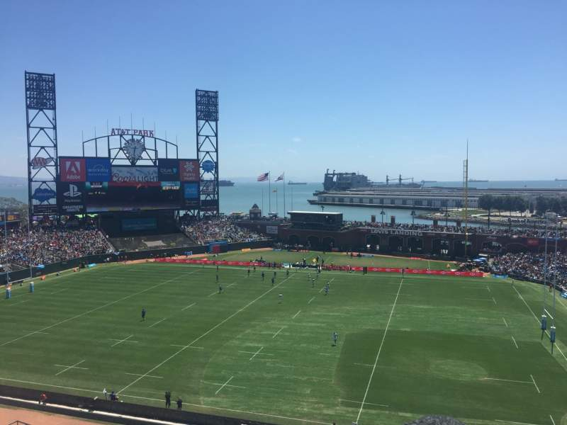 Seating view for Oracle Park Section VB323 Row B Seat 9