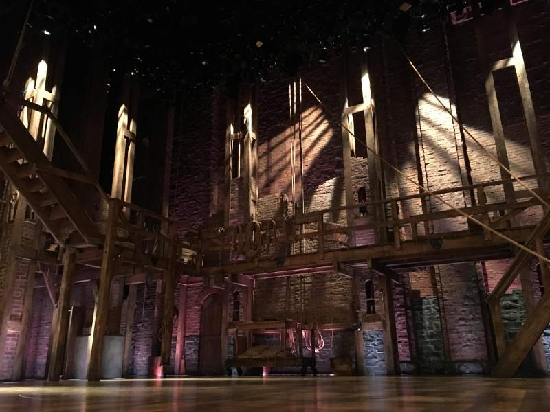 Seating view for Richard Rodgers Theatre Section Orchestra Row CC Seat 101