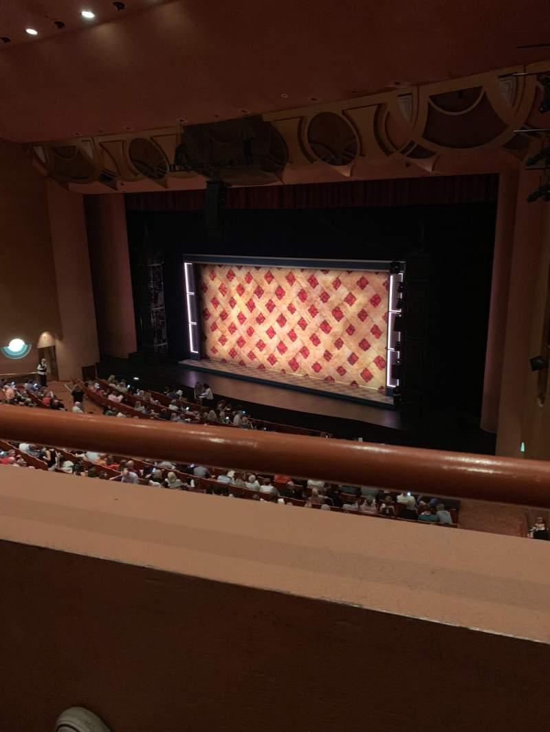 Seating view for ASU Gammage  Section TIERC2 Row 1 Seat 62