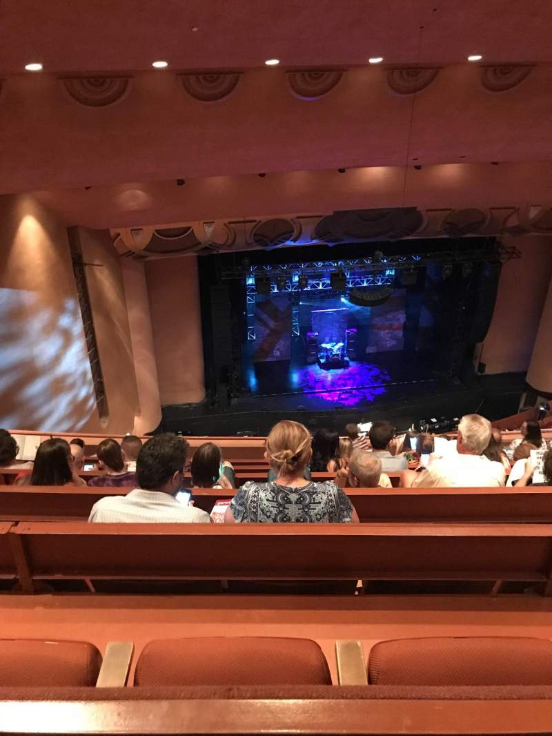 Seating view for ASU Gammage  Section BALCD1 Row 7 Seat 39-41
