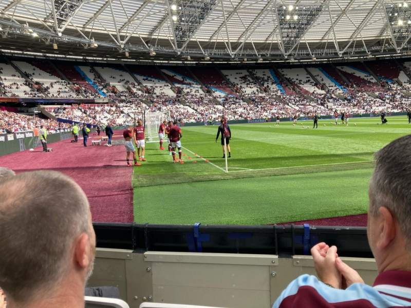 Seating view for London Stadium Section 103 Row 3 Seat 432