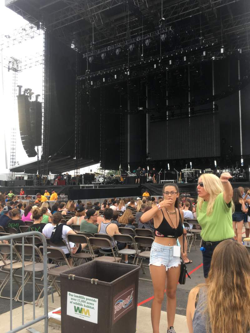 Seating view for Hershey Park Stadium Section A Row 16 Seat 23