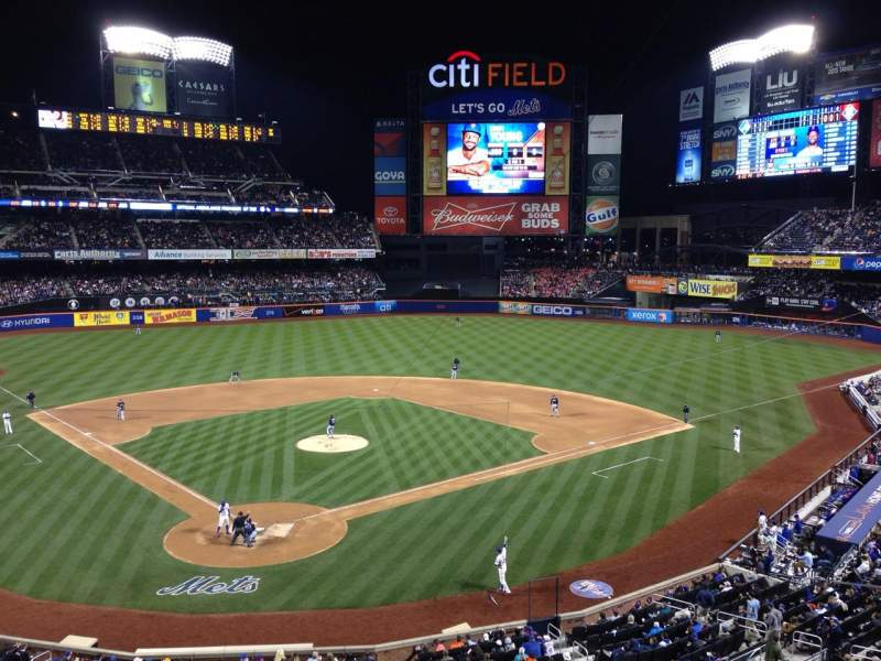Seating view for Citi Field Section 317 Row 1 Seat 1