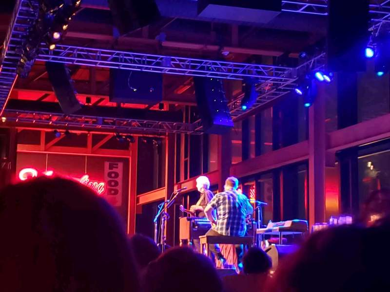 Seating view for Musikfest Cafe Section 500 Row H Seat 16