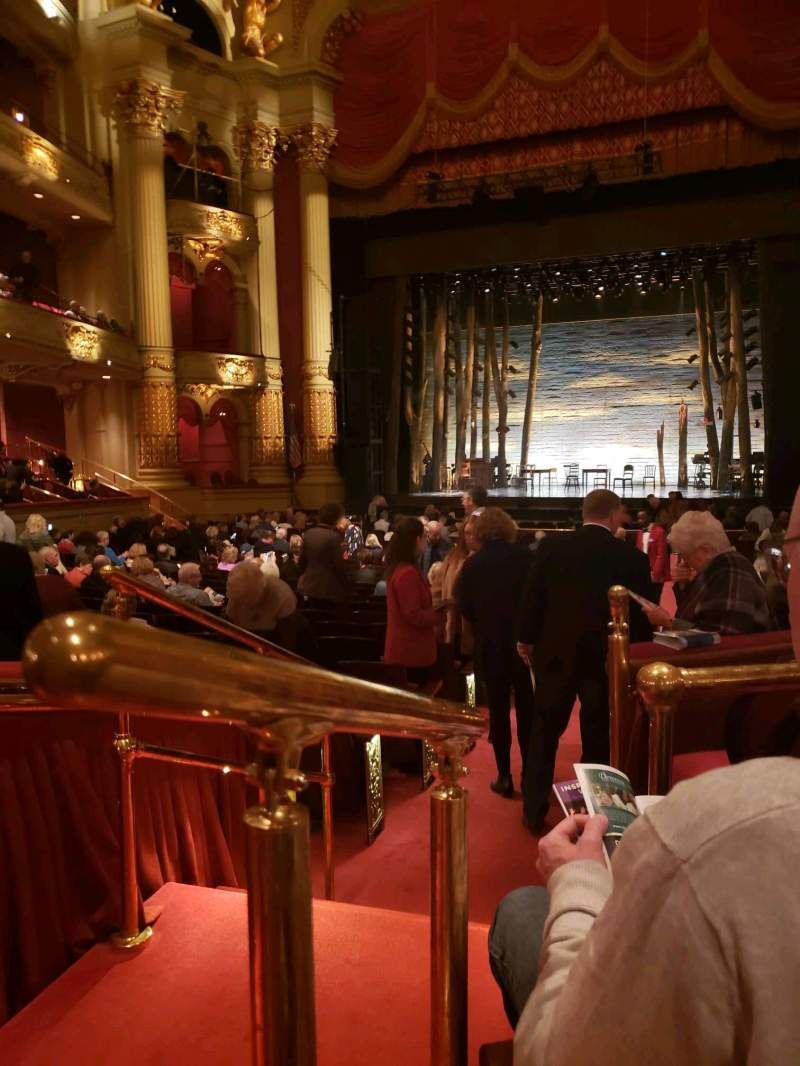Seating view for Academy of Music Section Parquet Circle D Row U Seat 2