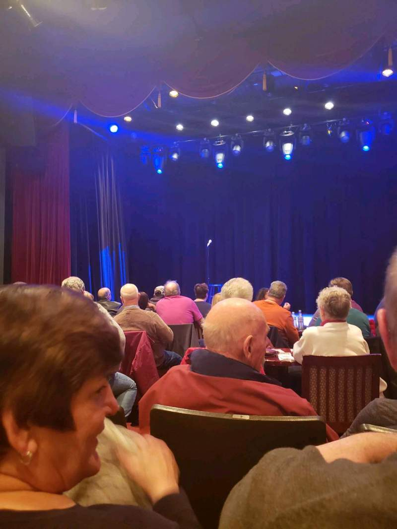 Seating view for Sellersville Theater Section Front Row C Seat 3