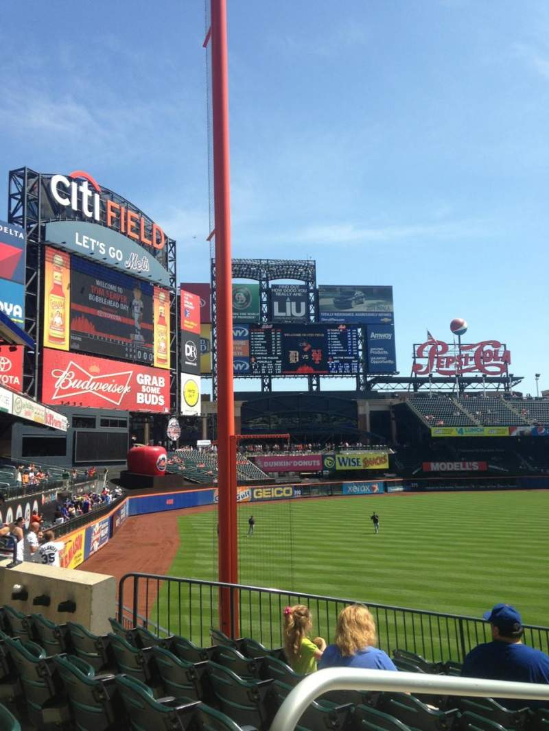 Seating view for Citi Field Section 130 Row 27 Seat 15