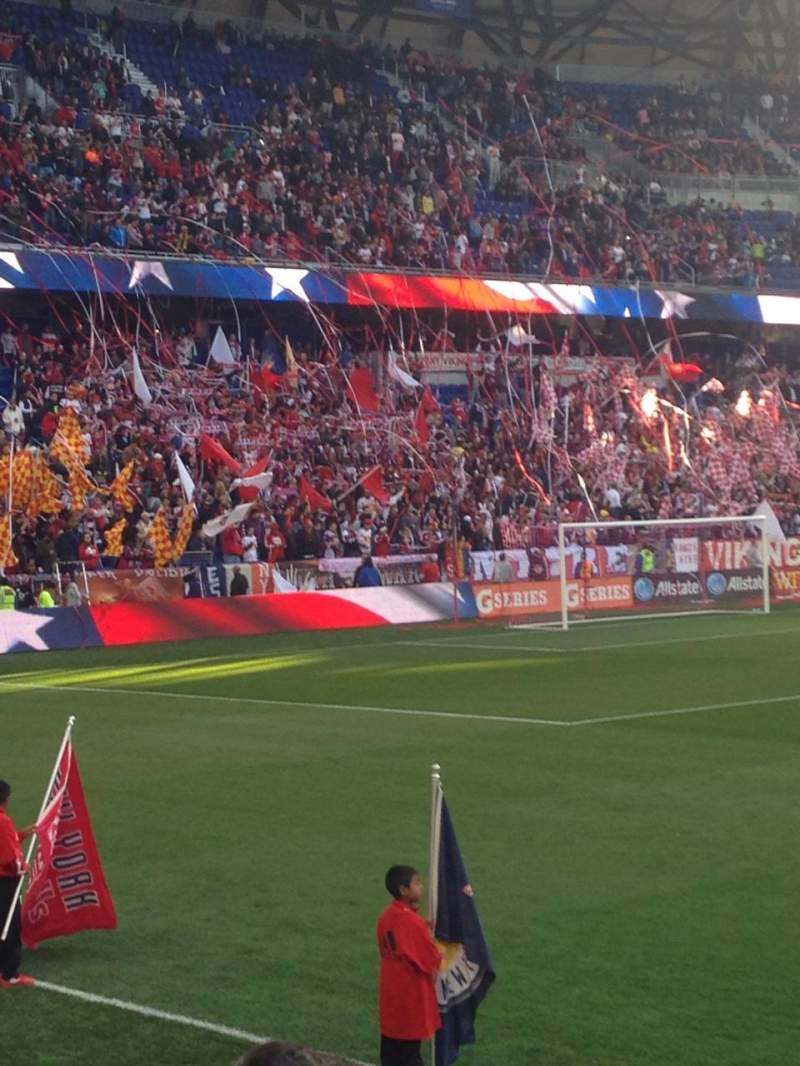 Seating view for Red Bull Arena Section 127 Row 3 Seat 13