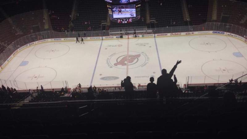 Seating view for Prudential Center Section 212 Row 7 Seat 8