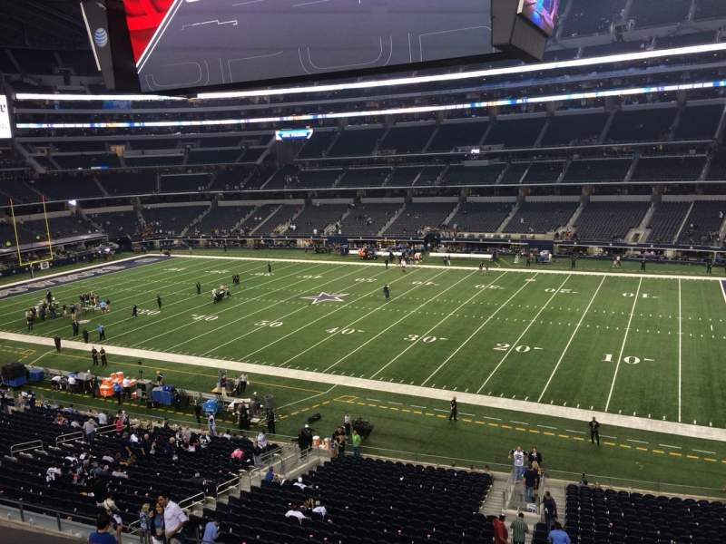 Seating view for AT&T Stadium Section C307 Row 1 Seat 10