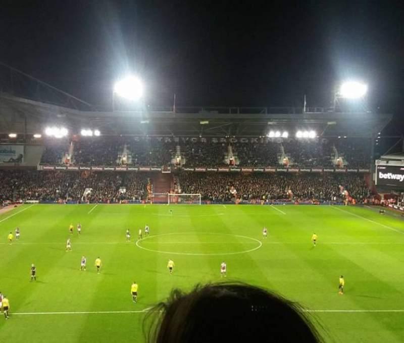Seating view for Boleyn Ground