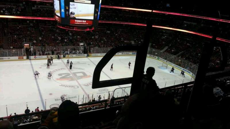 Seating view for Honda Center Section 435 Row E Seat 2