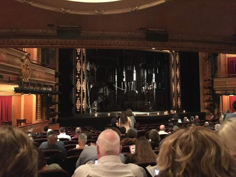 Seating view for American Airlines Theatre Section Orchestra C Row O Seat 115
