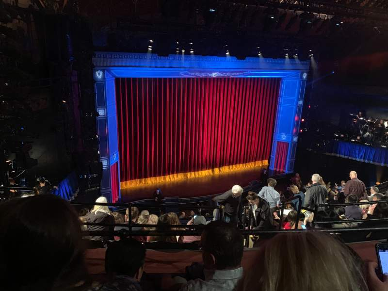 Seating view for Studio 54 Section Mid Mezz Row GG Seat 119