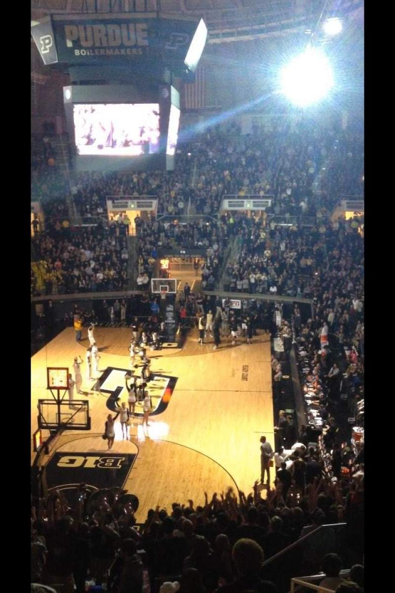 Seating view for Mackey Arena Section 215 Row 13 Seat 14