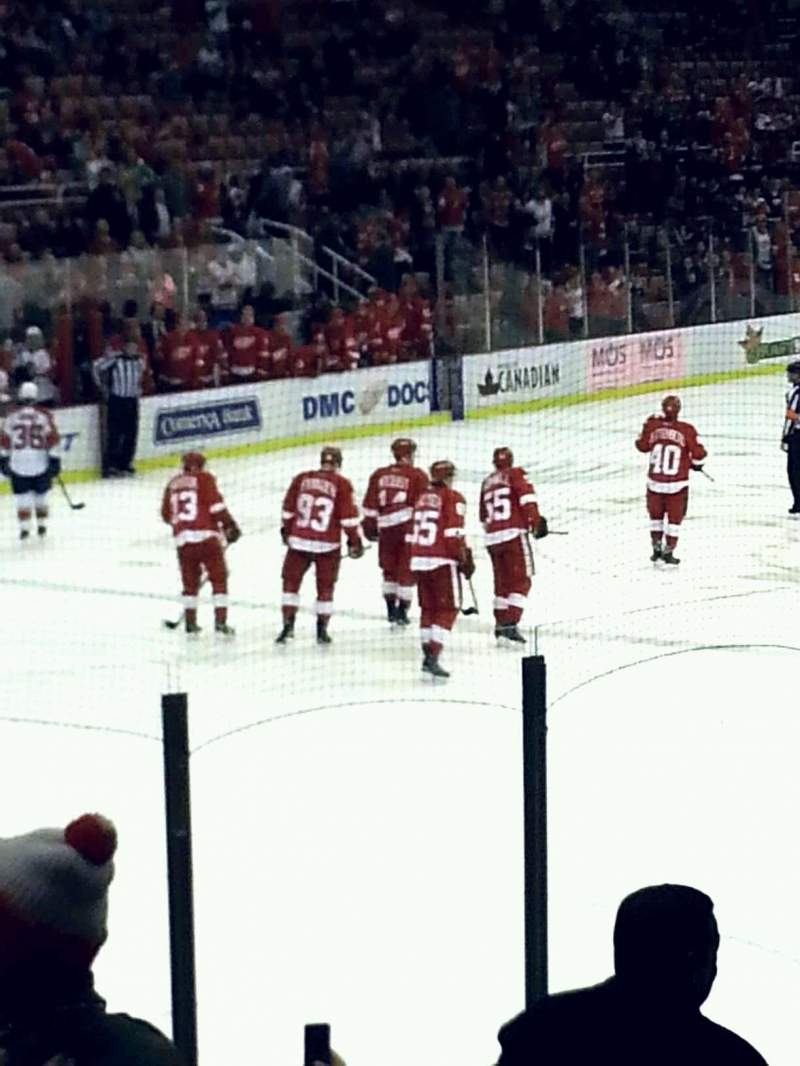 Seating view for Joe Louis Arena Section 112 Row 12 Seat 6