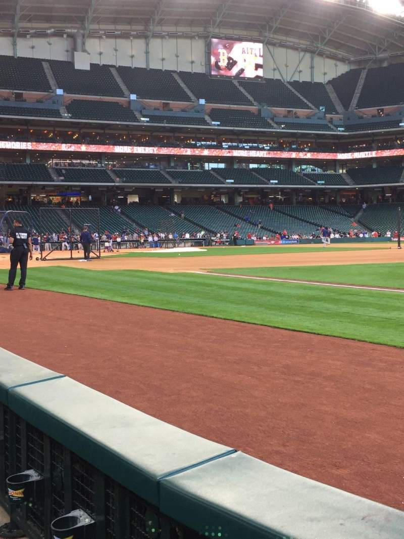 Seating view for Minute Maid Park Section 129 Row 2 Seat 8