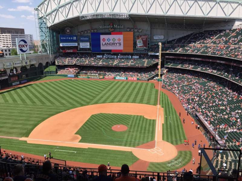Seating view for Minute Maid Park Section 415 Row 6 Seat 18