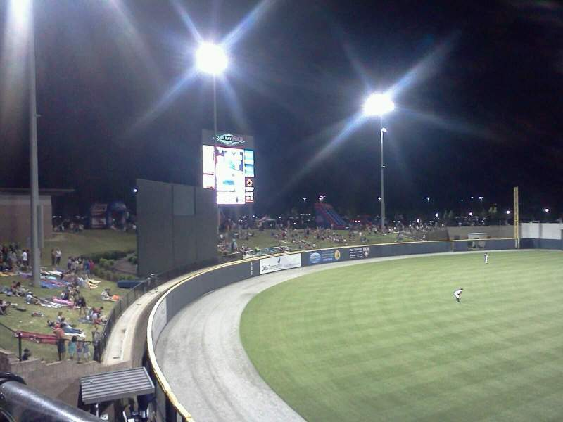Seating view for Coolray Field Section 118 Row t Seat 2