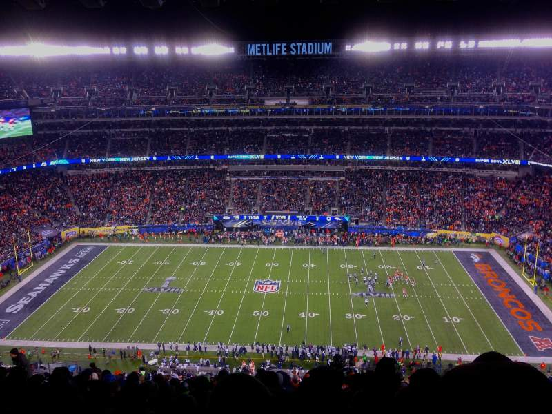 Seating view for MetLife Stadium Section 338 Row 26 Seat 7