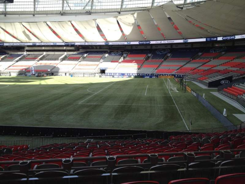 Seating view for BC Place Section 237 Row U Seat 7