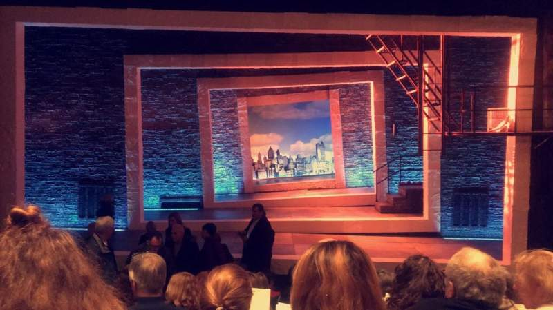 Seating view for Tony Kiser Theatre Section Center Orchestra Row H Seat 105