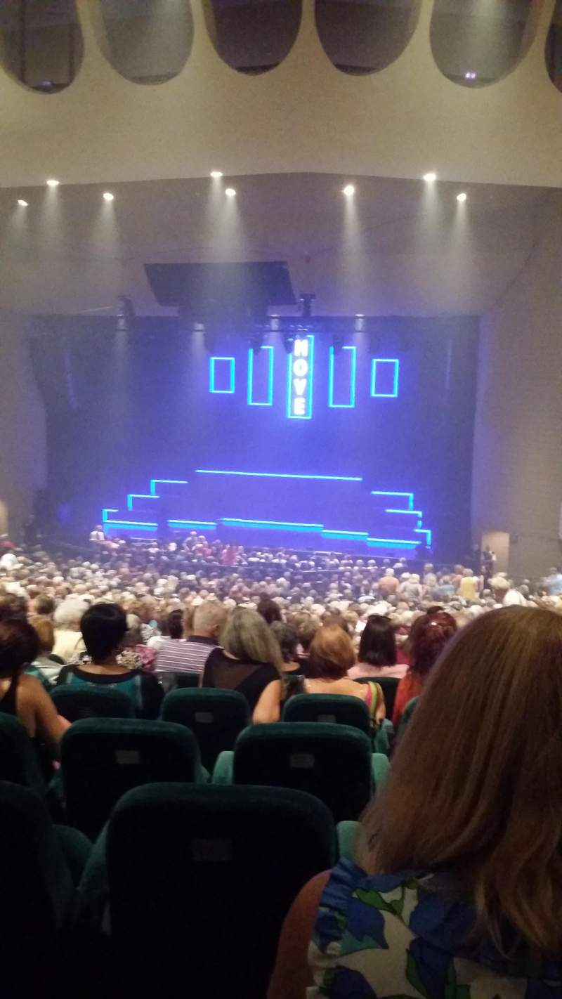 Seating view for Ruth Eckerd Hall Section 14 Row jj Seat 25