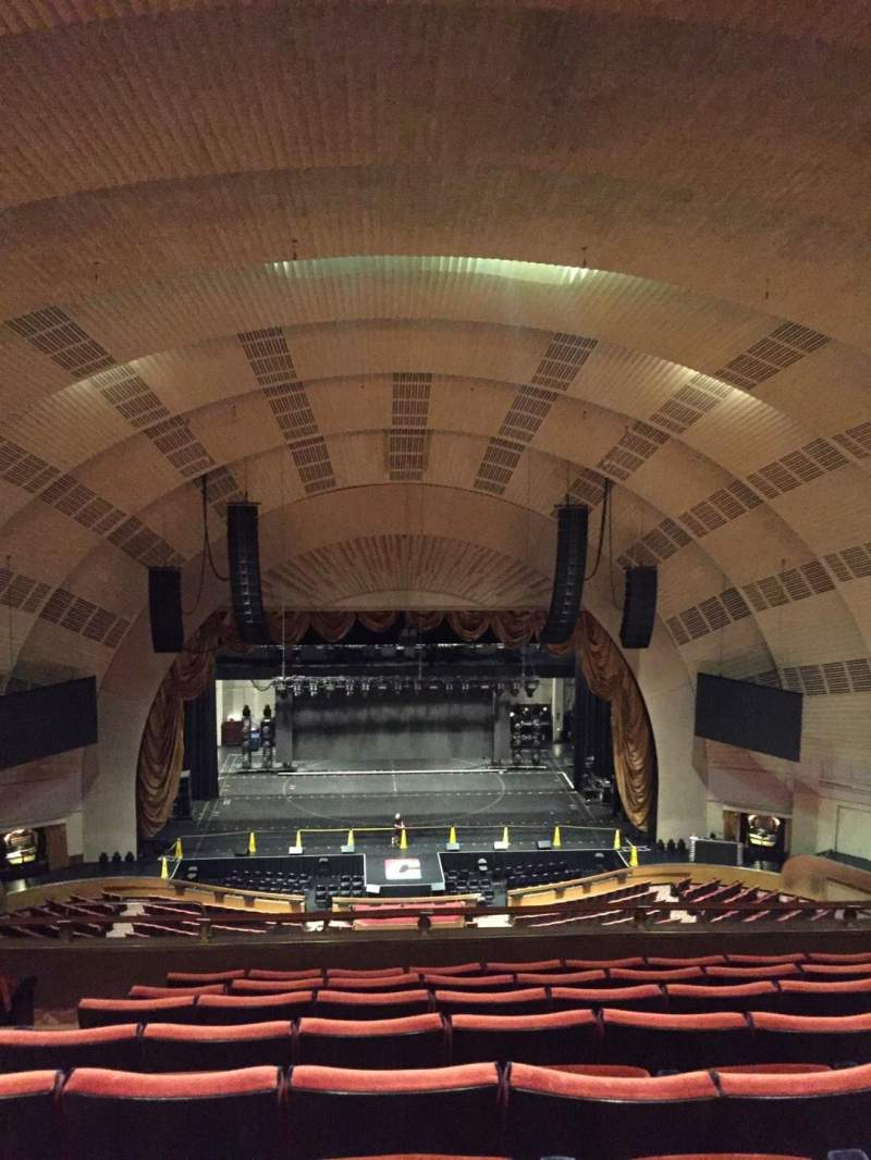 Seating view for Radio City Music Hall Section 3rd Mezzanine 4 Row H Seat 411