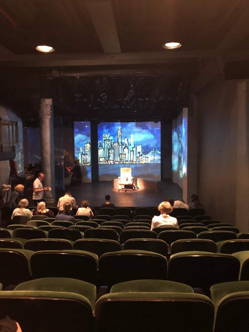 Seating view for The Irish Repertory Theater Section Orchestra Row L Seat 5