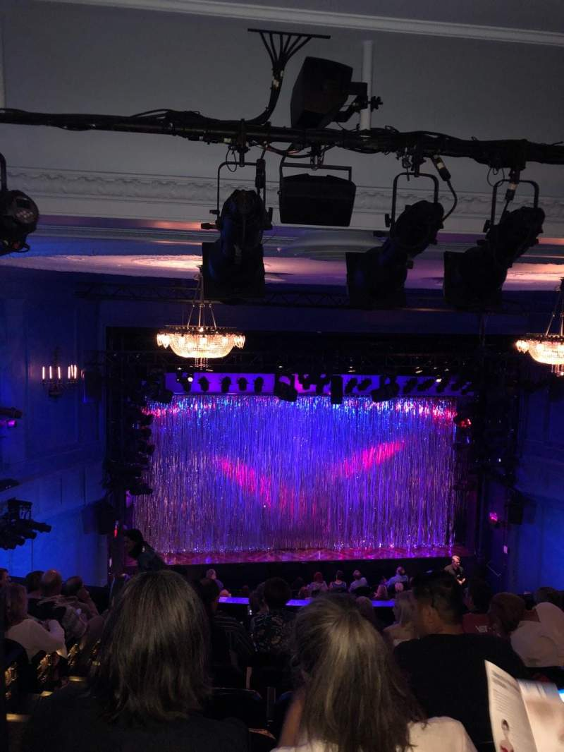 Seating view for Hayes Theater Section Mezzanine C Row J Seat 112