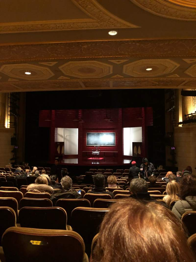 Seating view for Samuel J. Friedman Theatre Section Orchestra R Row P Seat 112