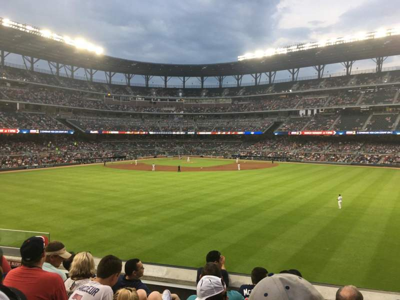 Seating view for SunTrust Park Section 152 Row 12 Seat 10