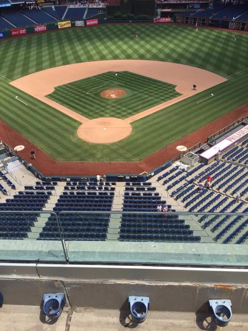 Citizens Bank Park, section: 320, row: 2, seat: 7-11