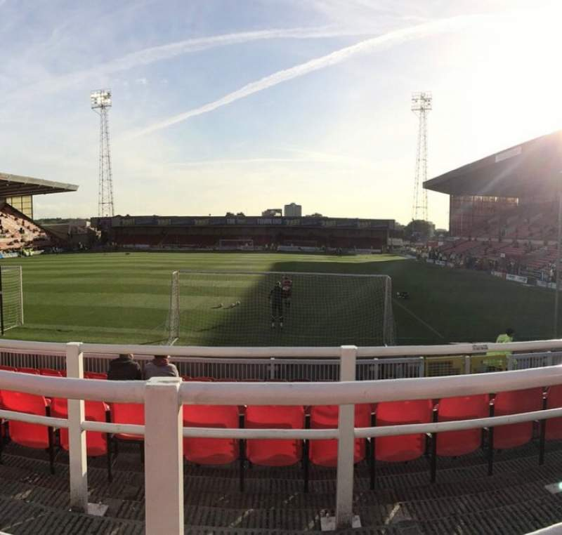 Seating view for County Ground