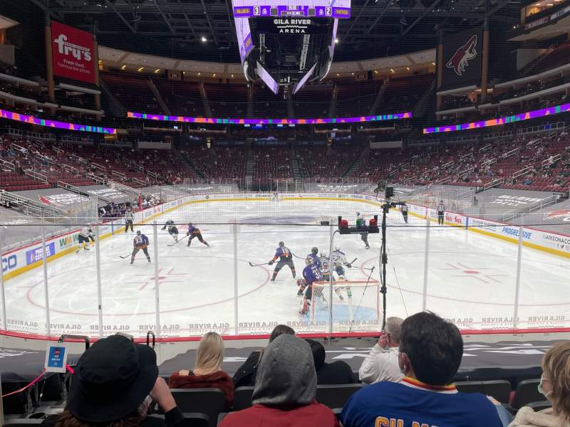 Seating view for Gila River Arena Section 117 Row J Seat 12