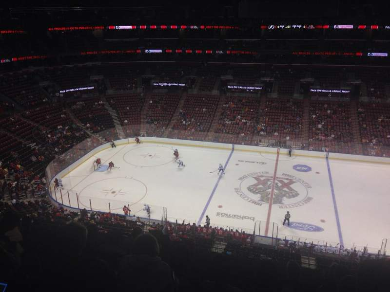 Seating view for BB&T Center Section 401 Row 5 Seat 8
