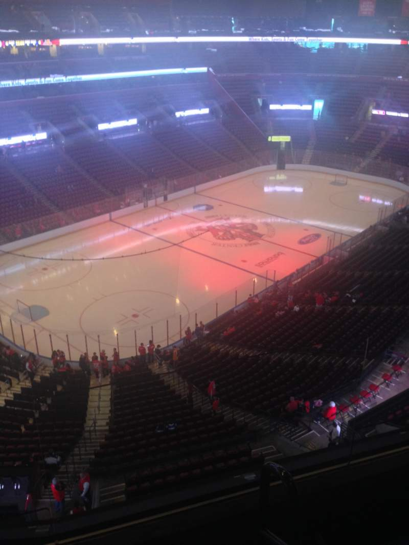 Seating view for BB&T Center Section 406 Row 2 Seat 1