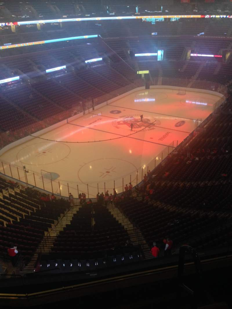 Seating view for BB&T Center Section 407 Row 2 Seat 1