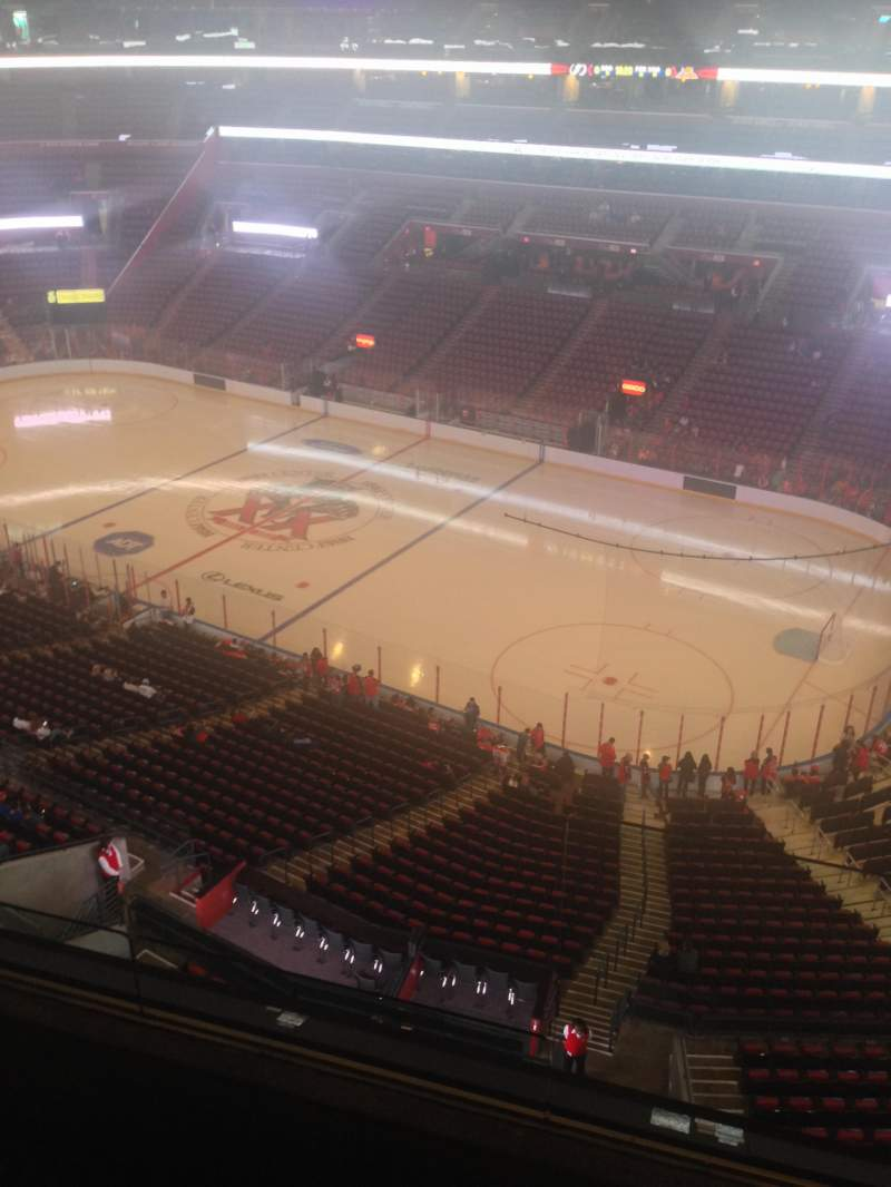 Seating view for BB&T Center Section 315 Row 2 Seat 1